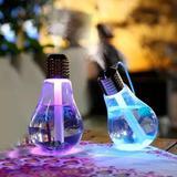 Lampada Umidificador Climatizador Aromatizador De Ar Luz Led  com 1 Ano de Garantia - Casa e costura