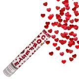 Lança Confete Coração 25 cm Mundo Bizarro