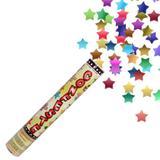 Lança Confete Estrelas Coloridas 25 cm Mundo Bizarro - Festabox