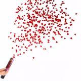 Lança Confetes Chuva de Corações - Ydh
