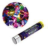 Lança Confetes Chuva Papel Metalizado Colorido 30cm SilverFestas - Festabox