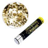 Lança Confetes Chuva Papel Metalizado Ouro 30cm SilverFestas - Festabox