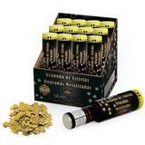 Lança Confetes Granada Estrelas Douradas 30cm 12 unidades SilverFestas - Festabox