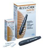 Lancetador Accu-Chek Softclix - Lancetador + 25 Lancetas Descartáveis - Roche - diabetes