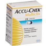 Lancetas Accu-chek Multiclix - 24 Unidades - Roche