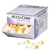 Lancetas Accu-Chek Safe T Pro Uno Com 200 Unidades - Accu check