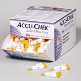 Lancetas Accu-Chek Safe-T-Pro Uno com 200 Unidades - Roche