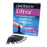 Lancetas One Touch Ultra - 25 Unidades - Johnson  johnson