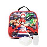 Lancheira Dmw Nintendo Mario Cart Vermelha/Preta - 11159