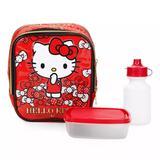 Lancheira Térmica Hello Kitty Gatinha 2019 Vermelho - Xeryus