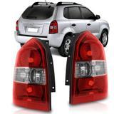 Lanterna Traseira Hyundai Tucson 2000 a 2013 Bicolor - Sp acessórios