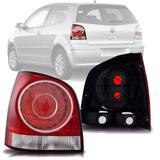 Lanterna Traseira Polo Hatch 2007 2008 2009 2010 2011 Serve no modelo 2003 a 2006 Esquerdo - Meihau