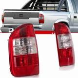 Lanterna Traseira S10 2010 2011 Serve 2001 a 2009 Executive Bicolor Cristal - Universal