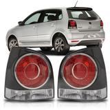 Lanterna Traseira Tunning Polo Gti 2007 A 2012 Fumê - Sp acessórios