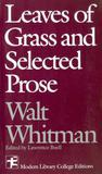 Leaves of grass and selected prose - Mhp - mcgraw hill professional