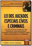Lei dos juizados especiais civeis e criminais   01 - Jurua