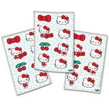 Lembrancinha Adesivos Especiais Hello Kitty 04 cartelas Festcolor