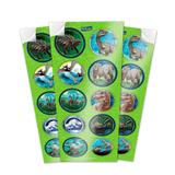 Lembrancinha Adesivos Jurassic PArk World 03 cartelas Festcolor