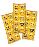 Lembrancinha Adesivos Redondo Emoji 03 Cartelas Festcolor - Festabox