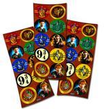 Lembrancinha Adesivos Redondo Harry Potter 03 Cartelas Festcolor - Festabox