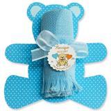 Lembrancinha de Maternidade e Chá de Bebê Toalhinha Urso Azul - Mz decoraçoes e festas