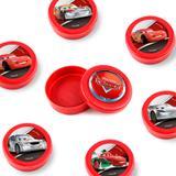 Lembrancinha Mini Latinha Carros Silver  10 unidades - Festabox