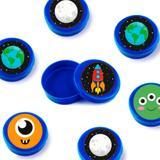 Lembrancinha Mini Latinha Festa Infantil Espacial 10 unidades - Festabox