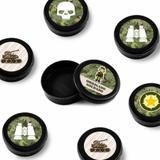 Lembrancinha Mini Latinha Militar 10 unidades - Festabox