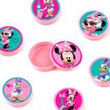 Lembrancinha Mini Latinha Minnie Rosa 10 unidades - Festabox