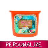 Lembrancinha Personalizada Mini Balde Pipoca Moana 08 unidades - Festabox