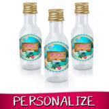 Lembrancinha Personalizada Mini Garrafinha Moana 16 unidades - Festabox