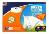 Lenços P/ Secadora Perfumados C/ 260 Unidades Dryer Sheets - Member mark