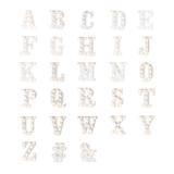 Letra Luminosa De Led K Decoração A Pilha Branco 22Cm - Cromus led