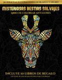 Libro de colorear anti estrés (Misteriosas bestias salvajes) - Coloring pages ltd