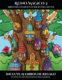 Libros para colorear con dibujos para adultos (Reino Mágico 2) - Coloring pages ltd