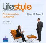 Lifestyle pre-intermediate class audio cds (2) - Pearson audio visual