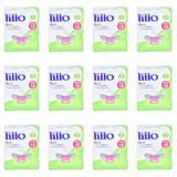 Lillo 611650 Funny Menina Chupeta Ort Silicone Lilás Tam2 (Kit C/12)