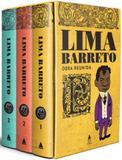 Lima barreto - obra reunida - caixa - Nova fronteira