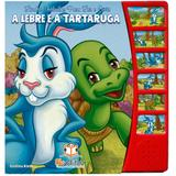 Lindas Fábulas para Ler e Ouvir: A Lebre e a tartaruga - Blu Editora - Dwinguler