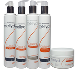 Linha Cachos Curling Mellidy Capelli Kit Completo 05 Itens - Mellyd capelli