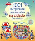 Livro - 1001 surpresas para encontrar na cidade em adesivo
