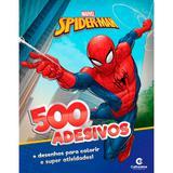 Livro 500 adesivos marvel homem aranha - culturama