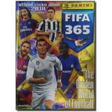 Livro - Album Panini Fifa 365 - 2018 - Cp +Figurinhas