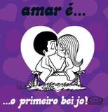 Livro - Amar é... O primeiro beijo!