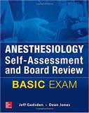 Livro Anesthesiology Self-Assessment and Board Review: BASIC Exam - Mcgraw hill education