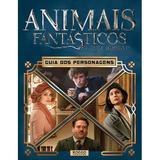 Livro - Animais fantásticos e onde habitam - Guia dos personagens