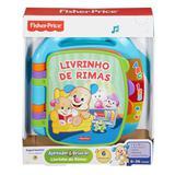 Livro - Aprender e Brincar - Meu Primeiro Livro de Rimas - Fisher-Price - Fisher price