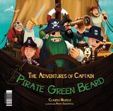 Livro - As aventuras do capitão pirata da Barba Verde / The adventures of the captain Pirate Green Beard