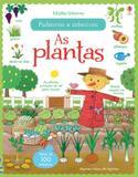 Livro - As plantas : Palavras e adesivos