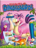 Livro - Atividades de dinossauros: Rosa